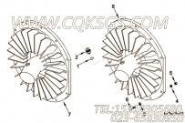 【Plumbing, Fan】康明斯CUMMINS柴油机的3266533 Plumbing, Fan