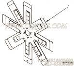 3178699风扇,用于康明斯KT38-G-550KW柴油发动机风扇组,更多【发电用】配件报价