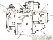 AR12112脉冲减震器及安装,用于康明斯KTA38-G5-800GF柴油发动机燃油泵组,更多【动力电】配件报价