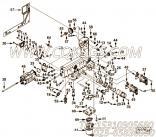 【柴油机QSB4.5-C110的油底壳组】 康明斯内六角圆头螺栓报价,参数及图片