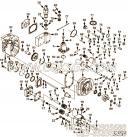 【燃油泵齿轮罩】康明斯CUMMINS柴油机的3033723 燃油泵齿轮罩