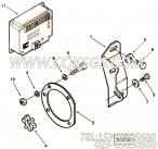 3052578调速器控制件,用于康明斯NTA855-GH动力燃油泵控制器组,更多【电力】配件报价