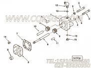 【齿轮油泵】康明斯CUMMINS柴油机的3033733 齿轮油泵