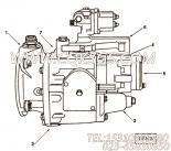 【燃油泵总成】康明斯CUMMINS柴油机的3820492 燃油泵总成