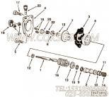 3001707调节片,用于康明斯NTC-290发动机燃油泵组,更多【徐工拌合机】配件报价
