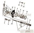 【压缩弹簧】康明斯CUMMINS柴油机的179822 压缩弹簧