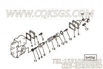 3001156压缩弹簧,用于康明斯KTA38-C1050柴油发动机燃油泵总成组,更多【摊铺机】配件报价