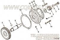 3009511附件驱动支承,用于康明斯KTA19-C450柴油发动机燃油泵驱动组,更多【材料运输车】配件报价