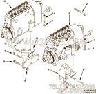 【泵架】康明斯CUMMINS柴油机的3094593 泵架