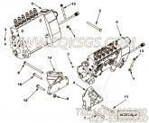 【泵架】康明斯CUMMINS柴油机的4068160 泵架