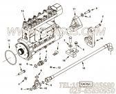 【发动机6LTAA8.9-C240的机油标尺组】 康明斯管夹报价,参数及图片
