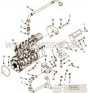 【燃油泵支架】康明斯CUMMINS柴油机的4924691 燃油泵支架