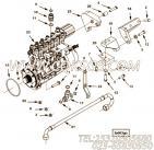 【燃油泵支架】康明斯CUMMINS柴油机的4951865 燃油泵支架