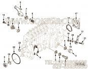 【柔性软管】康明斯CUMMINS柴油机的3924054 柔性软管