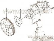 【燃油泵支架】康明斯CUMMINS柴油机的3280807 燃油泵支架