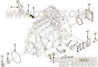 【Screw, Banjo Connector】康明斯CUMMINS柴油机的3913681 Screw, Banjo Connector