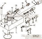 【传感器适配器】康明斯CUMMINS柴油机的4010084 传感器适配器