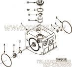 【燃油泵过滤器盖】康明斯CUMMINS柴油机的4009979 燃油泵过滤器盖