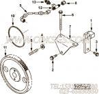 【C3931382】燃油泵齿轮 用在康明斯引擎