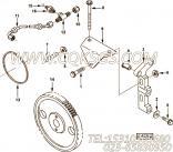 【燃油泵支架】康明斯CUMMINS柴油机的3285157 燃油泵支架