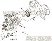 【泵架】康明斯CUMMINS柴油机的4900296 泵架