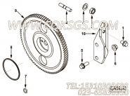 【燃油泵齿轮】康明斯CUMMINS柴油机的3935455 燃油泵齿轮