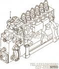 【喷油泵】康明斯CUMMINS柴油机的3967261 喷油泵