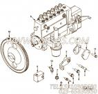 【柴油机6CT8.3-C205的燃油泵连接件组】 康明斯燃油泵齿轮报价,参数及图片