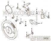 【引擎ISCE8.3的燃油泵连接件组】 康明斯燃油泵支架报价,参数及图片