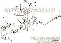 【柔性软管】康明斯CUMMINS柴油机的3349128 柔性软管