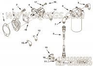 【柔性软管】康明斯CUMMINS柴油机的AM80350 SS 柔性软管