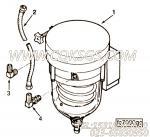 【燃油滤清器】康明斯CUMMINS柴油机的C0149186600 燃油滤清器