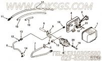 【燃油输送管】康明斯CUMMINS柴油机的C0149177200 燃油输送管