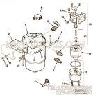 【肘软管接头】康明斯CUMMINS柴油机的C0502099000 肘软管接头