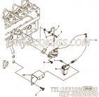 【燃油供应管】康明斯CUMMINS柴油机的3281166 燃油供应管