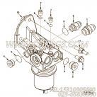 【柴油机6B190 30的燃油回油管位置组】 康明斯直通接头体报价,参数及图片