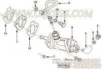 【柴油机6BT5.9-C118的输油泵组】 康明斯燃油输油管报价,参数及图片
