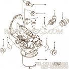 【外螺纹弯头】康明斯CUMMINS柴油机的3062138 外螺纹弯头