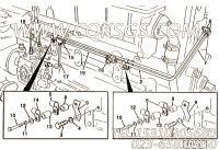 【燃油引流管】康明斯CUMMINS柴油机的216129 燃油引流管