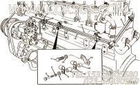 【燃油供应管】康明斯CUMMINS柴油机的3006965 燃油供应管