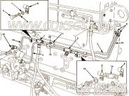 【燃油引流管】康明斯CUMMINS柴油机的3043482 燃油引流管