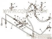 【燃油旁通管】康明斯CUMMINS柴油机的3351419 燃油旁通管