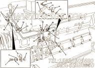 【燃油供应管】康明斯CUMMINS柴油机的3048369 燃油供应管