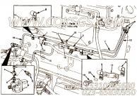 【燃油供应管】康明斯CUMMINS柴油机的3074358 燃油供应管