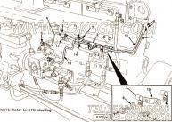 【燃油供应管】康明斯CUMMINS柴油机的3071248 燃油供应管