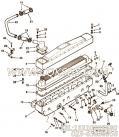 【油表管支架】康明斯CUMMINS柴油机的3252470 油表管支架