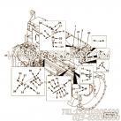 【燃油供应管】康明斯CUMMINS柴油机的3033012 燃油供应管