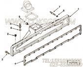 【进气歧管垫片】康明斯CUMMINS柴油机的3066369 进气歧管垫片