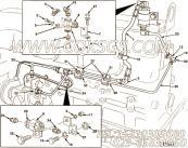 【燃油供应管】康明斯CUMMINS柴油机的3166447 燃油供应管