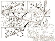 【流血管】康明斯CUMMINS柴油机的3356144 流血管